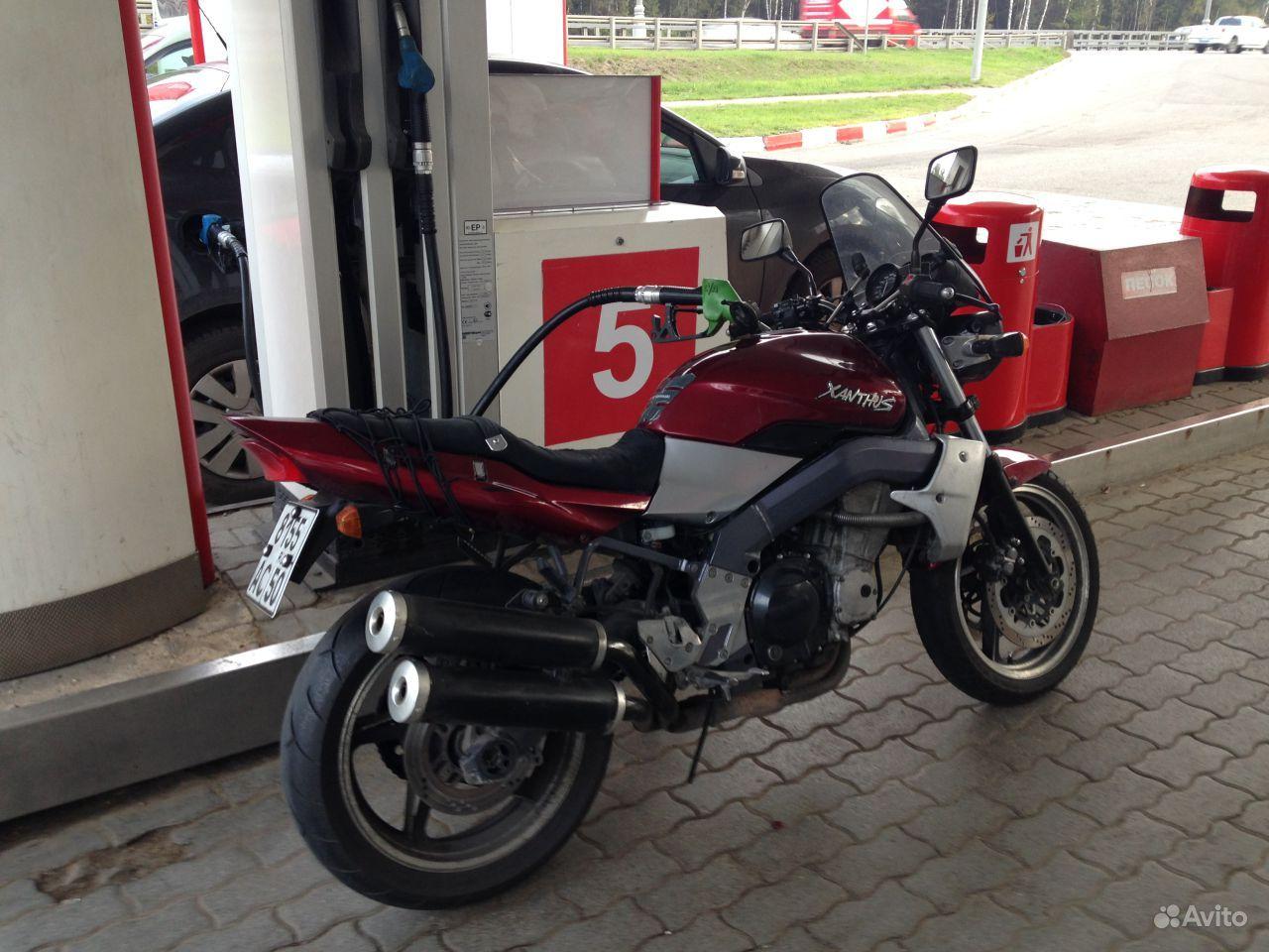 Kawasaki xanthus zr400d двс zxr400 фотография 5