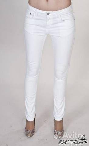 белые джинсы купить