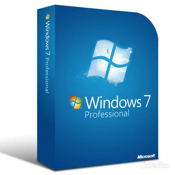 Програмное обеспечение Windows 7 Professional SP1 (OEM), 64-bit Russian CIS