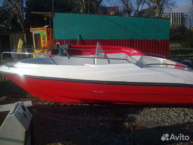 моторная лодка для буксировки