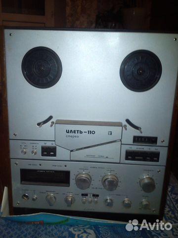 Магнитофон Илеть-110