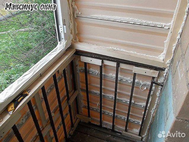 Отделка и ремонт балконов своими руками