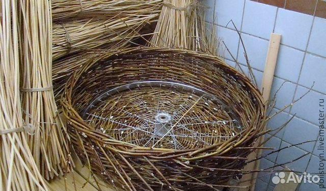 Декоративное гнездо для аиста своими руками