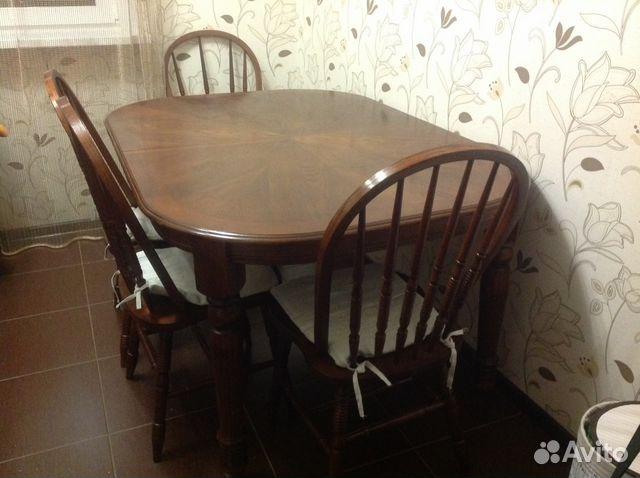 Обеденный стол со стульями  москва