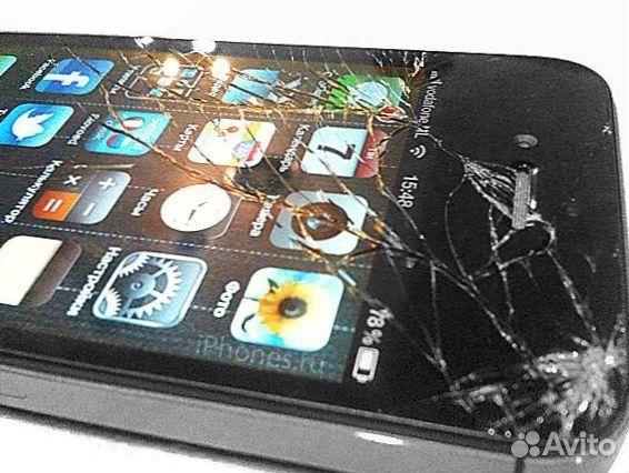 Замена стекла на iphone 4s своими руками