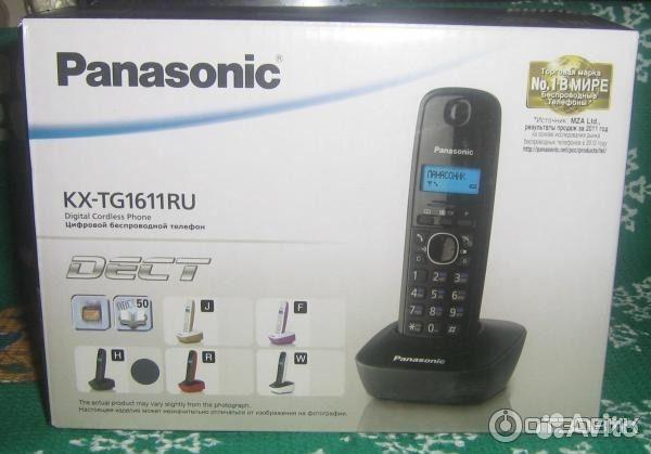 телефон панасоник стационарный трубка инструкция pnlc1023