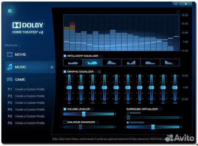 Dolby Home Theater - Скачать бесплатно последнюю версию, без СМС. dolby hom