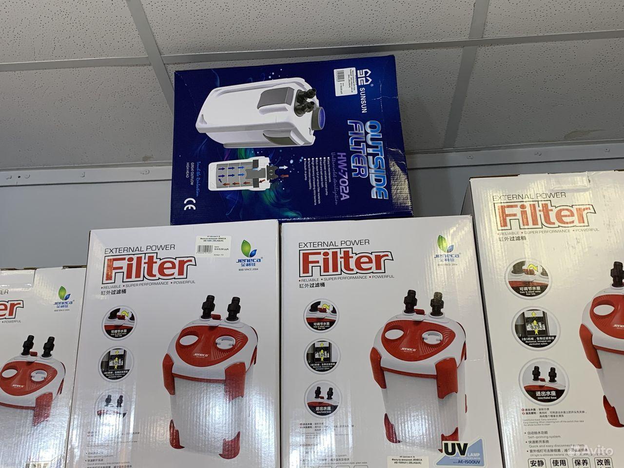 Фильтр sunsun HW-702B, с UV стерилизатором до 300л купить на Зозу.ру - фотография № 9