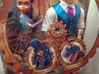 Robecca Steam and her father. Mattel. Monster High