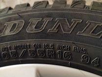 Шины зимние Dunlop 205/55/16