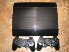 Sony play station3 superslim 500 гигабайт+ 28 игр