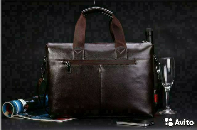 adefcfd4d17b Новую, кожаную сумку (мужскую) купить в Краснодарском крае на Avito ...