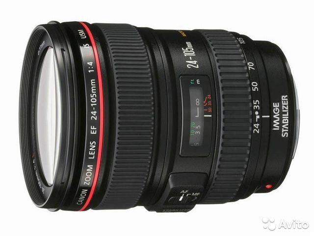 Объектив Canon EF 24-105mm f/4.0L IS USM— фотография №1