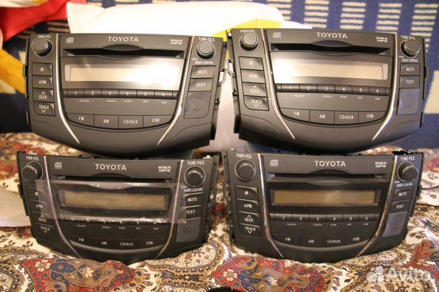 магнитофон toyota rav4 2007