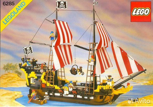 Набор лего пиратский корабль