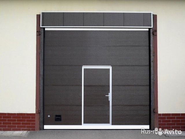 промышленные секционные ворота h 4 5 м