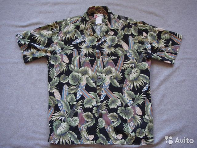 350fb7680 Гавайская рубашка Hilo Hattie's Aloha Hawaii USA купить в Санкт ...