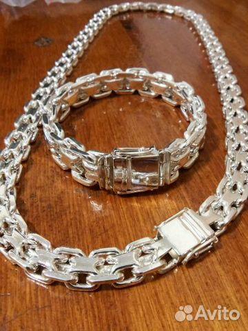 того браслет из серебра мужской для академического