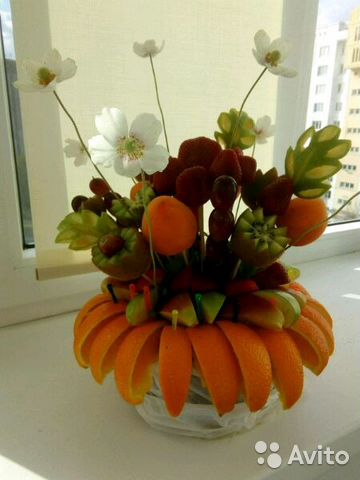 Fruit and vegetable bouquets 89507981098 buy 1