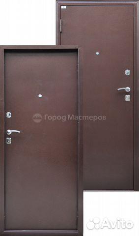 стальные входные двери на улицу