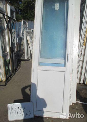 Балконная дверь 2270 (в) х 700 (ш) б/у д1131 festima.ru - мо.