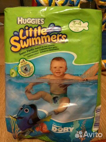 Подгузники Huggies для плавания 7-15кг   Festima.Ru - Мониторинг ... 384fd2cc47a