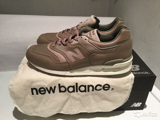 reputable site 6a514 794df NEW balance 997 bespoke horween leather