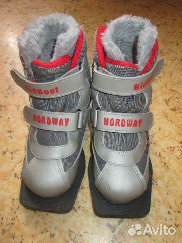 dc38486d9321 Детские лыжные ботинки Nordway 31 купить в Москве на Avito ...