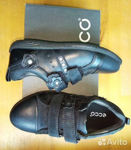 Закрытые туфли кроссовки Экко 27р  6d72b47e078a6