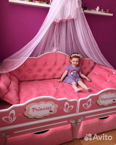 e05def1b4 Детская кровать для настоящей Принцессы купить в Нижегородской ...
