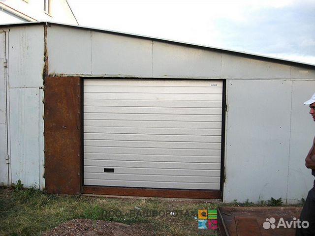 Заказать ворота на гараж в стерлитамаке железный гараж на шпалах