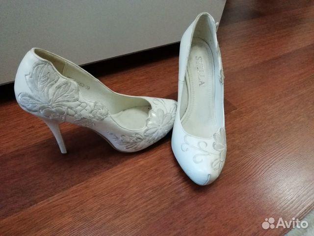 15360810d Белые туфли купить в Московской области на Avito — Объявления на ...
