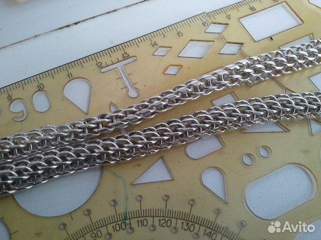 Мужская цепь Итальянка серебряная, вес 68,4 грамм 89283211593 купить 6