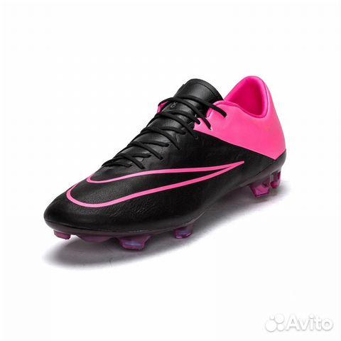 Футбольные бутсы Nike Mercurial Vapor X Lthr FG купить в Санкт ... be529e2930e