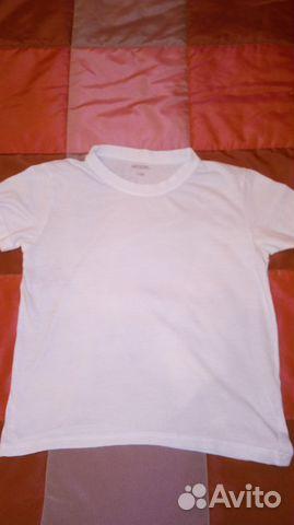 Новая белая футболка рост 158  d1a8c3745370e