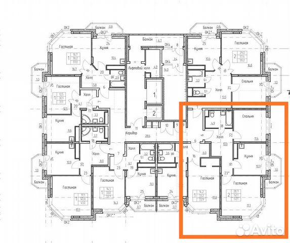 Продается двухкомнатная квартира за 3 330 000 рублей. Амурская область, Благовещенск, микрорайон Солнечный.
