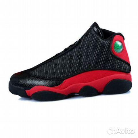 0ef77169e1ae Кроссовки Nike Air Jordan 13 Retro Black/Red