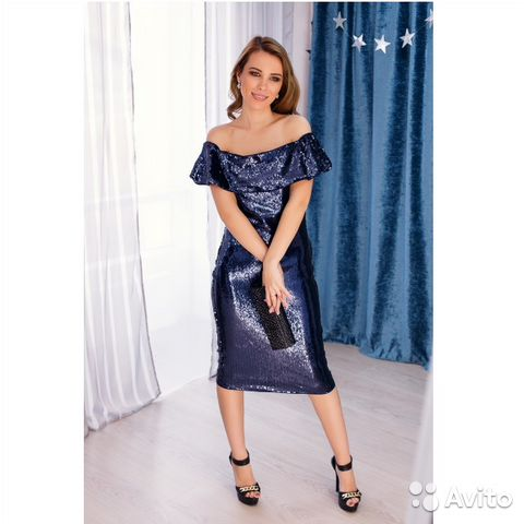 ca4c1a269c32682 Платье со спущенными плечами пайеточные | Festima.Ru - Мониторинг ...