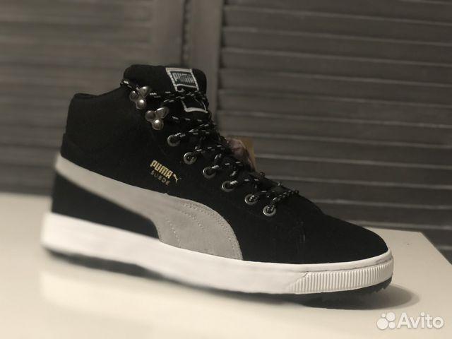 Зимние кроссовки Puma Suede 41 p-p  4e7354923d9ce