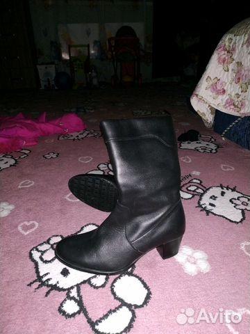 Сапоги новые зимние кожаные 89887087878 купить 4
