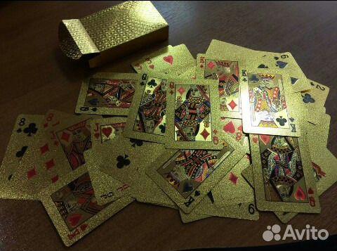 Набор золотых карт 89280091516 купить 4