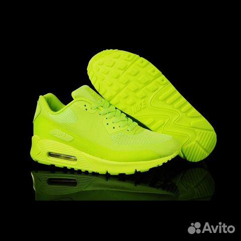 5cff23bb Кроссовки Nike Air Max 90 мужские зеленые купить в Москве на Avito ...