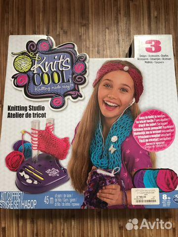 набор для вязания Knits Cool нитс кул купить в челябинской области