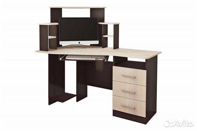 Компьютерный стол Каспер (Доставка Бесплатно)