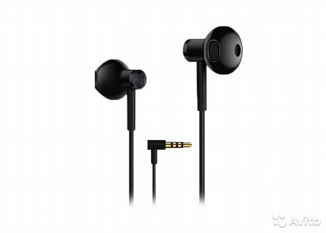 80ca0792e4b Стерео-наушники Xiaomi Mi Dual-Unit Semi-in-Ear купить в Москве на ...