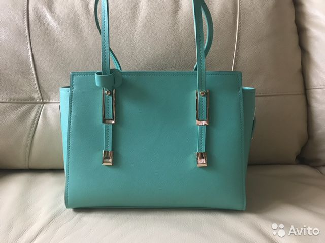 5d5960fff167 Элегантная женская бирюзовая сумка на весну-лето купить в Москве на ...