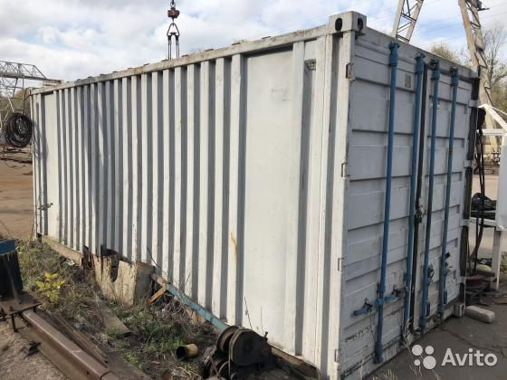 89370628016 Container Utility Room-Garage