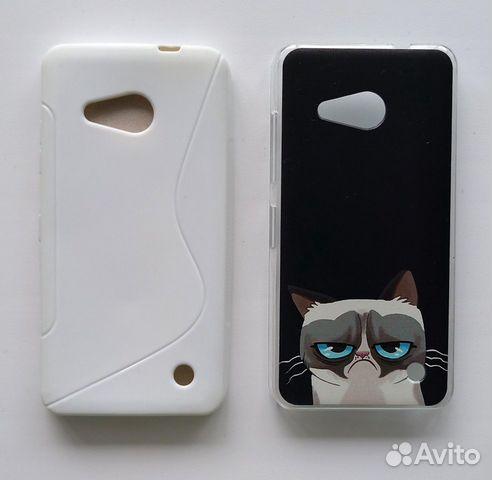 2 чехла на Lumia 550