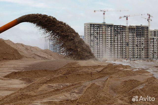 намыв песка технология