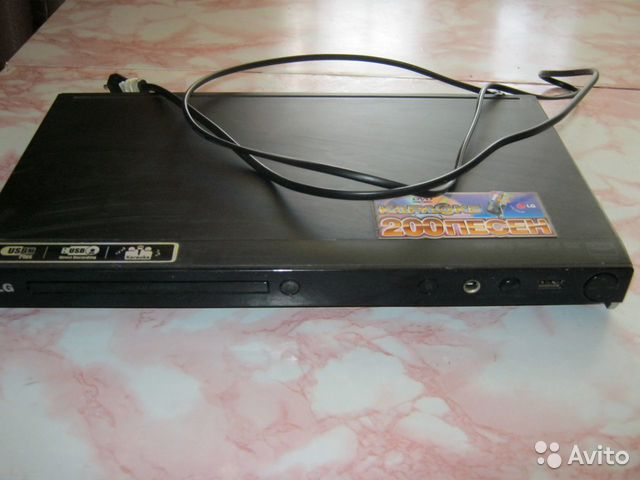 DVD плеер LG DVX-556K  89379707862 купить 1